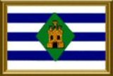 Flag of Vieques Island, Puerto Rico