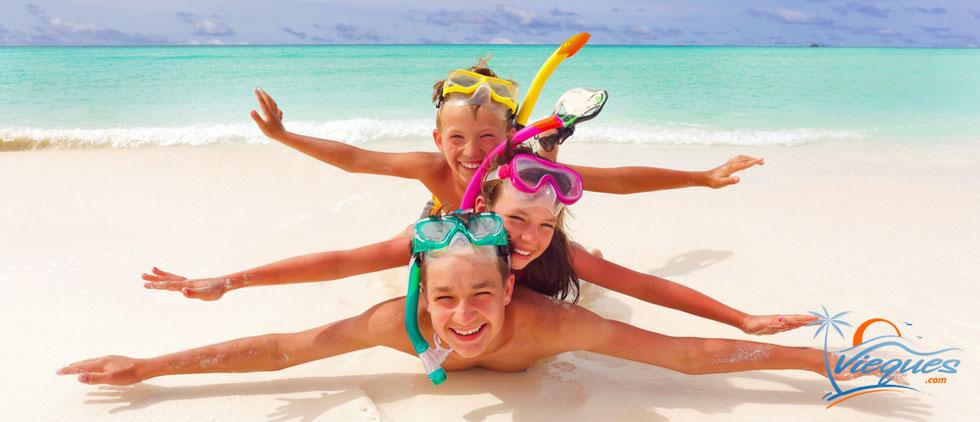 Isla de Vieques, Puerto Rico - Gran lugar para vacacionar en familia