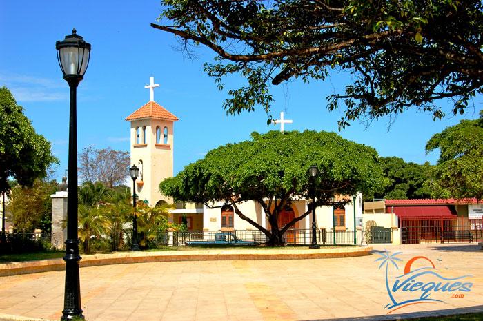 Plaza, Isabel Segunda, Isla de Vieques