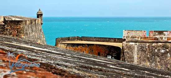Puerto Rico Attractions - El Morro Fortress, San Juan
