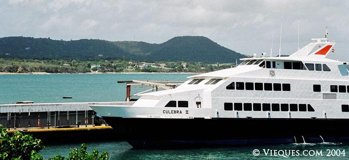 Vieques / Fajardo Ferry Information