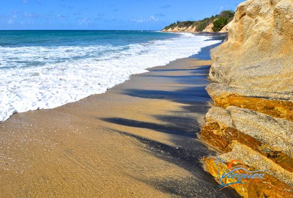 Black Sand Beach / Playa Negra - Vieques Island, Puerto Rico