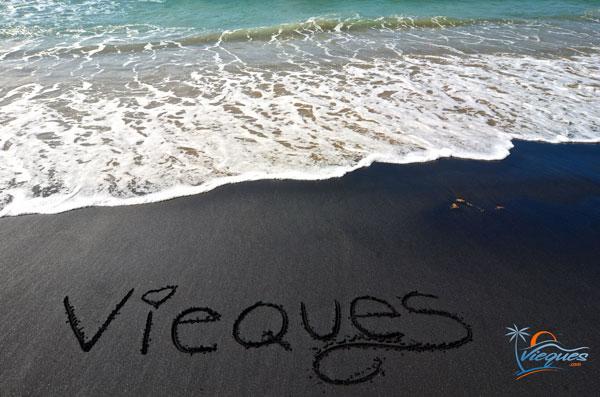 Playa Negra / Black Sand Beach - Vieques, Puerto Rico