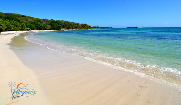 The eastern part of Playa La Chiva - Vieques, Puerto Rico
