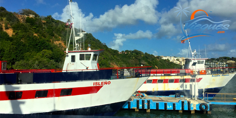 Ferry from Fajardo to Vieques - Puerto Rico