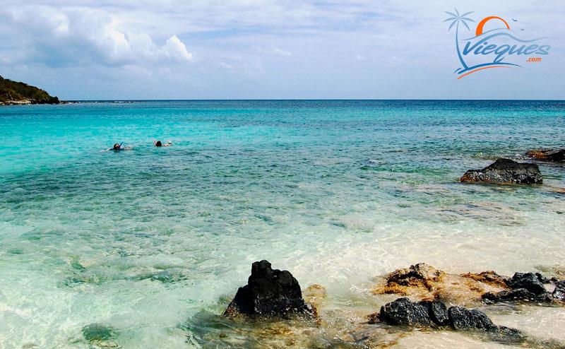 Pata Prieta - Snorkeling beaches in Vieques, Puerto Rico