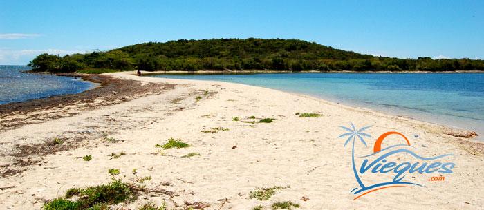 Sand Path to Cayo de Tierra trail