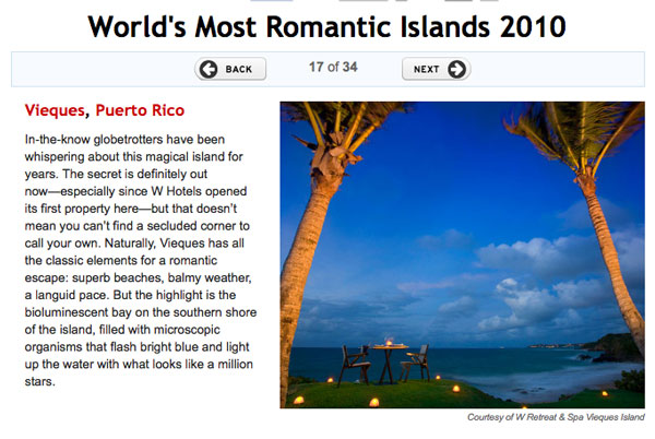 Vieques - One of the World's most romantic islands