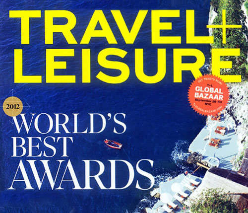 No.1 Best Island in the Caribbean – World's Best Awards by Travel & Leisure 2012