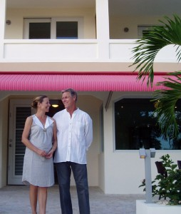 Mr & Mrs. Shepherd - Owners of Malecon House, Vieques, Puerto Rico