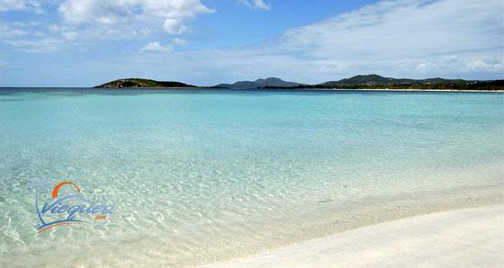 Sun Bay Beach - Vieques Island, Puerto Rico