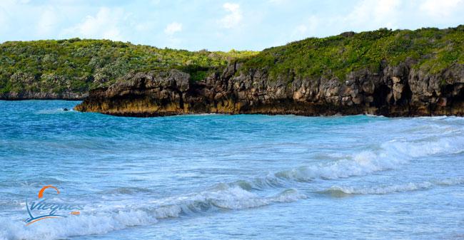 Playa Caracas Cliffs - Vieques Island, Puerto Rico