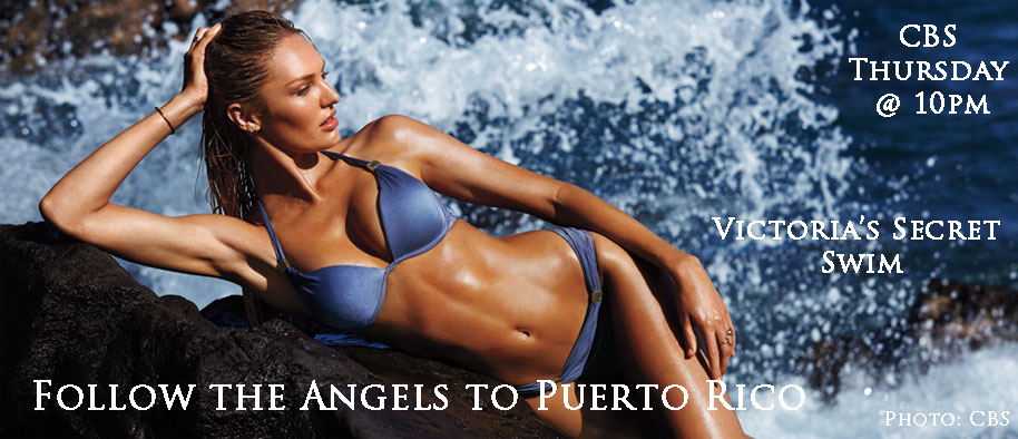 Don't Miss Victoria's Secret Angels Swim filmed in Vieques, Puerto Rico