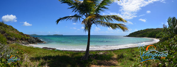 Escondida Beach - Vieques, Puerto Rico - Perhaps the World's Smallest Beach