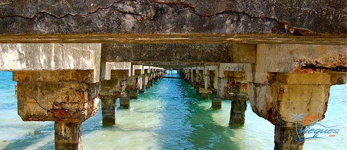 Sugar Cane Pier - Esperanza, Vieques, Puerto Rico